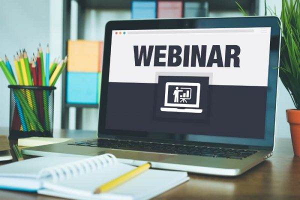 online webinars recorded and live